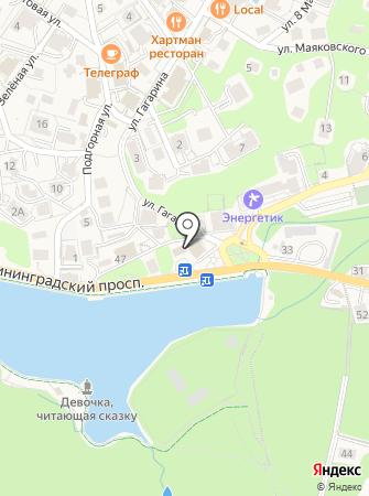 Служба одного окна на карте