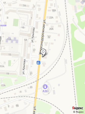 Отделение ГИБДД ОВД по г. Зеленоградску на карте