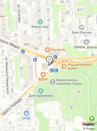 МАГАЗИНЦВЕТОВ39.РФ на карте