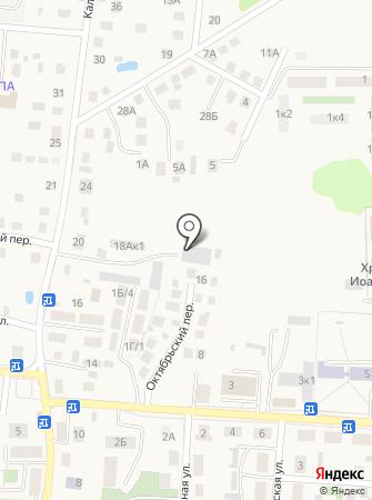 Рустоун на карте