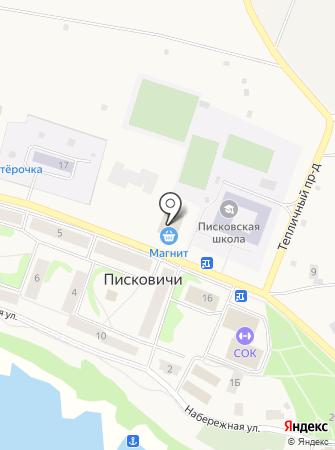 Галатея на карте