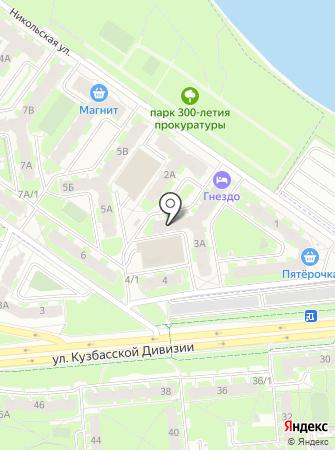 Сити на карте