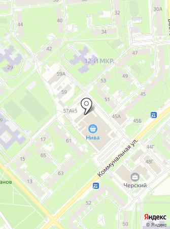 Зеленая аптека на карте