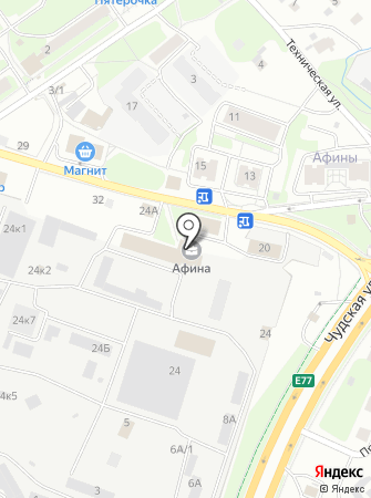 LIDER на карте