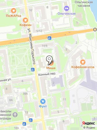 Дом Бабинина на карте