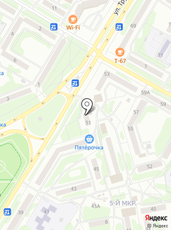 AutoStore на карте
