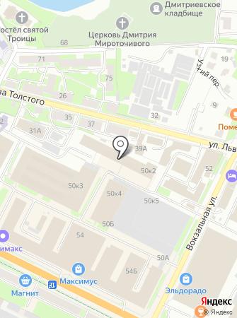 Автосервис на Октябрьском проспекте на карте