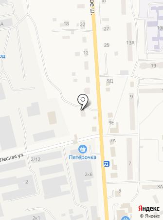 Автомойка на Ропшинском шоссе на карте