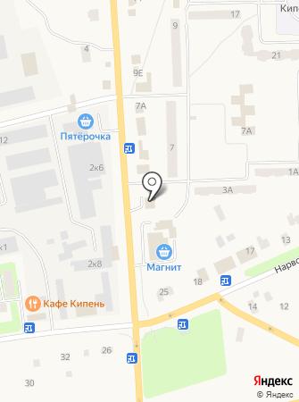 Администрация сельского поселения Кипенское на карте