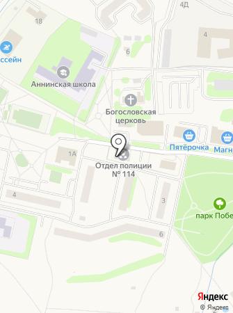 Победа, ЗАО на карте