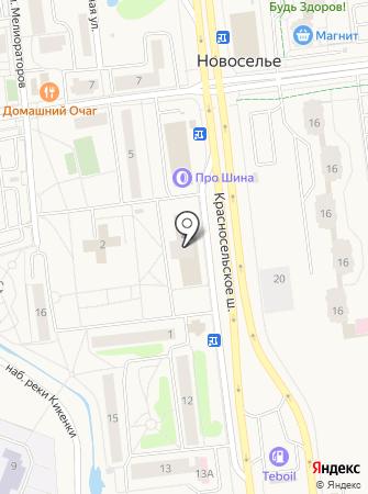 Кот-Комод на карте