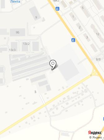 Шиномонтажная мастерская на ул. Виллози на карте