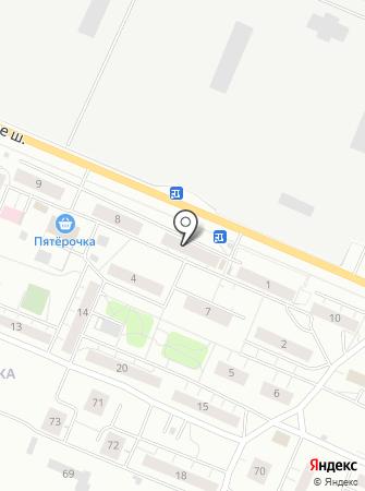 Почтовое отделение №651 на карте