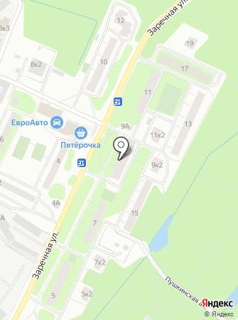 Почтовое отделение №655 на карте