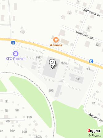 Криан энд Фреш на карте