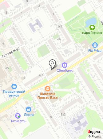 Администрация городского поселения Сертоловское на карте