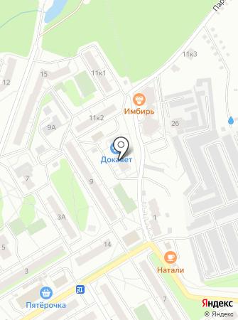 Iмбирь на карте