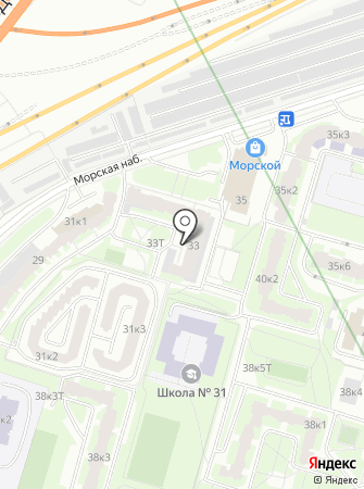 Горняк, ТСЖ на карте