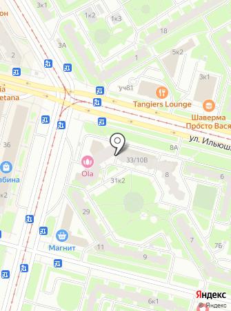 Касабланка, ТСЖ на карте