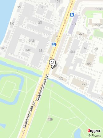 Резерв-Метиз СПб на карте
