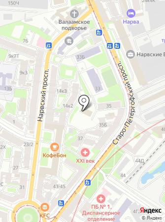 ПОРТ на карте
