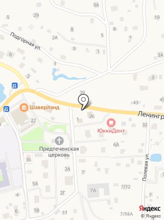 Администрация сельского поселения Юкковское на карте