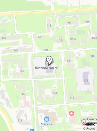 Агалатовский детский сад №1 на карте