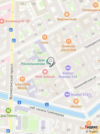 Ансон Логистикс на карте