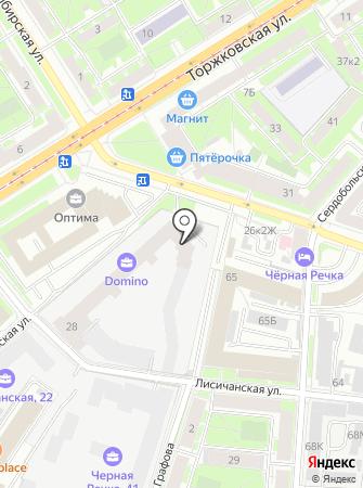 Клин Фло на карте