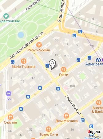 Residence на карте