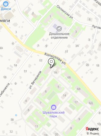 Невский Альянс на карте