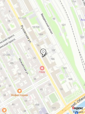 Трест Севзапкурортстрой, ЗАО на карте