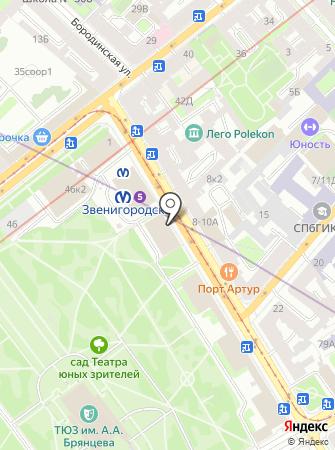 Банк Финансовая корпорация Открытие, ПАО на карте