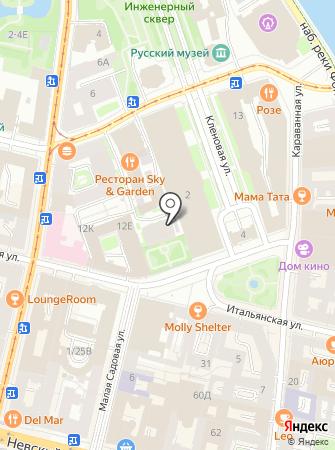 Дом на Итальянской, ТСЖ на карте