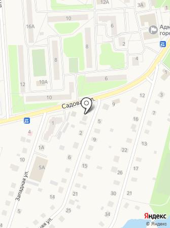 ТехноЛИС на карте
