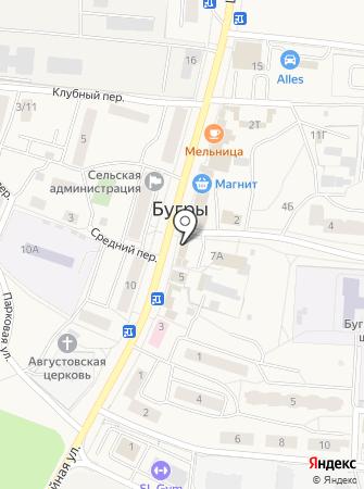 БУК на карте