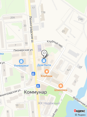 Магазин картин на Ленинградском шоссе (Гатчинский район) на карте
