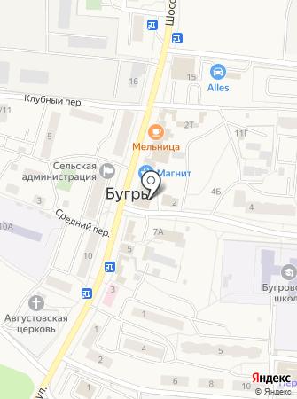 Магазин женской одежды и постельного белья на Шоссейной на карте