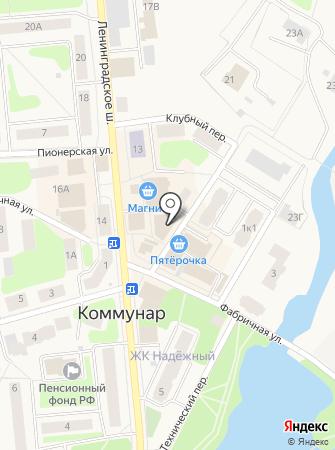 Сервис-С на карте