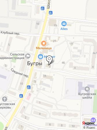 Лелик на карте