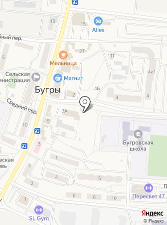 Автомойка на Шоссейной (Всеволожский район) на карте