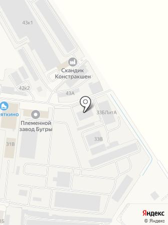 АТЦ Север на карте