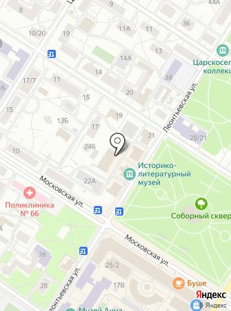 20 отряд ФПС по г. Санкт-Петербургу на карте