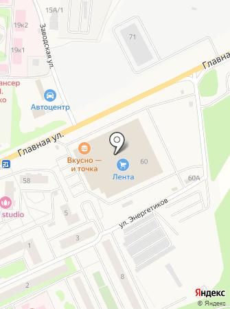 Шпилька на карте