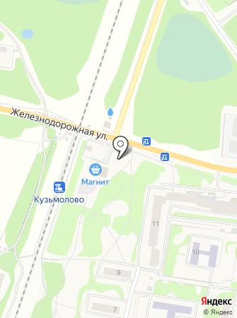 Магазин трикотажных изделий на Железнодорожной на карте