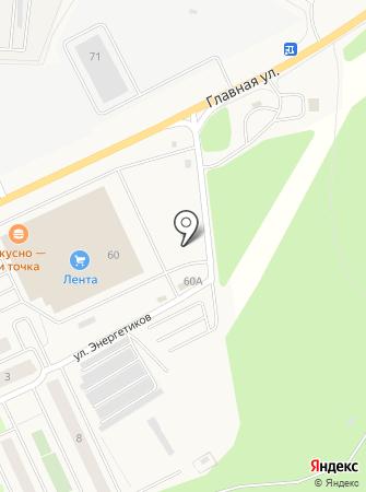 Шиномонтажная мастерская на Главной на карте