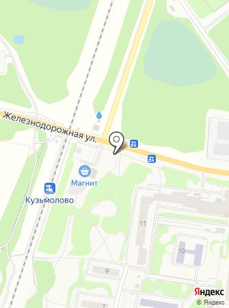 Магазин колбасы и сыра на Железнодорожной ( Всеволожский район) на карте