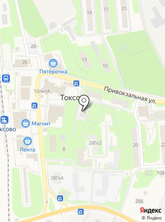 Токсовский мебельный магазин на карте