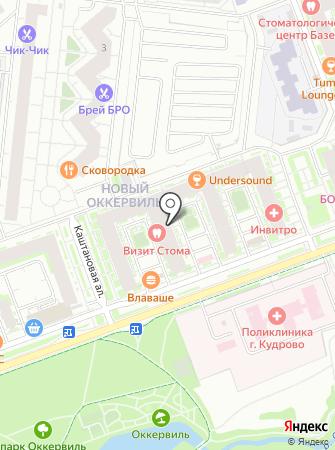 Магазин разливного пива на Ленинградской (Всеволожский район) на карте