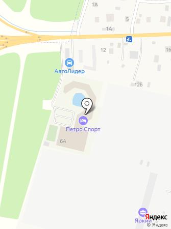 Центр большого тенниса СПБ на карте